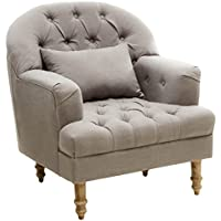 Best Selling Home Dolores Tufted Arm Chair