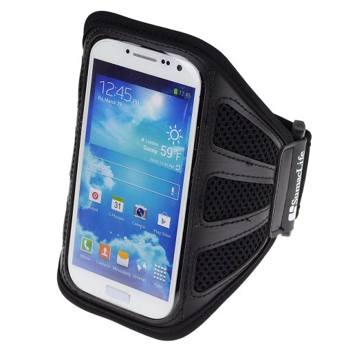 SumacLife Workout Armband for Samsung Galaxy S5 , SAMSUNG GALAXY NOTE 3 , Note 2 , LG G2 G3 , HTC ONE M8 , Sony Xperia