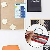 SUNEE Dry Erase Pockets 30 Packs - Reusable