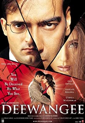 Amazon com: Deewangee (2002) (Hindi Thriller Film / Bollywood Movie