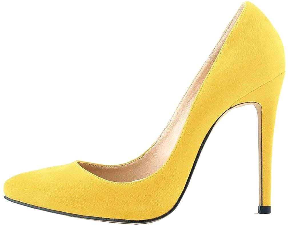 Calaier  Cacrossing, Damen - Pumps, gelb - gelb - Größe: EU 43 - Damen faa4c7