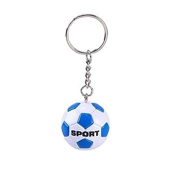 BESTOYARD Llavero Balón de Fútbol Llavero Fútbol Personalizado ...