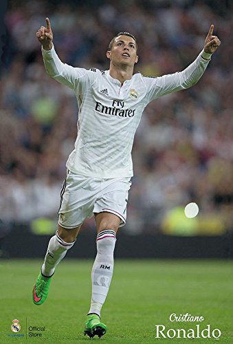 Cristiano Ronaldo Real Madrid F.C. 2015 Football Soccer Wall Decoration Poster (#10)