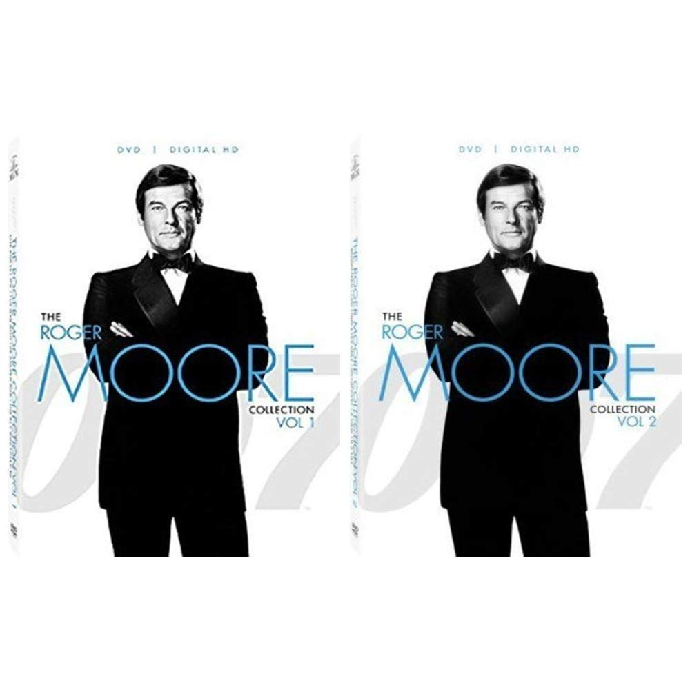 Amazon Com The Roger Moore 007 Dvd Collection 7 James Bond