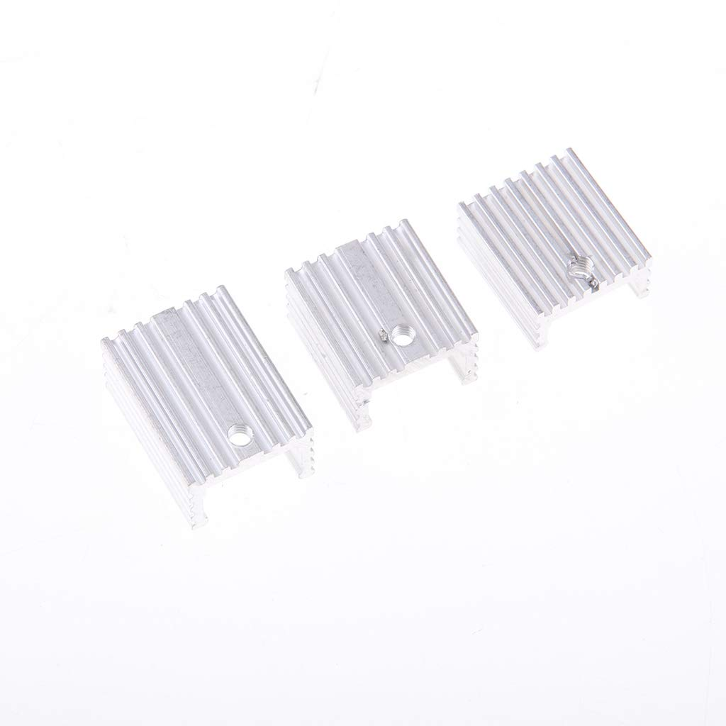 TO-220 Transistors Aluminum Heat Sink Cooling Circuit Board with Storage Box