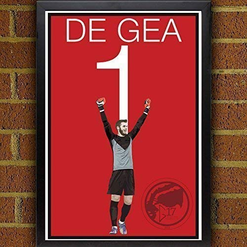David De Gea Poster - Manchester United Art by Graphics 17