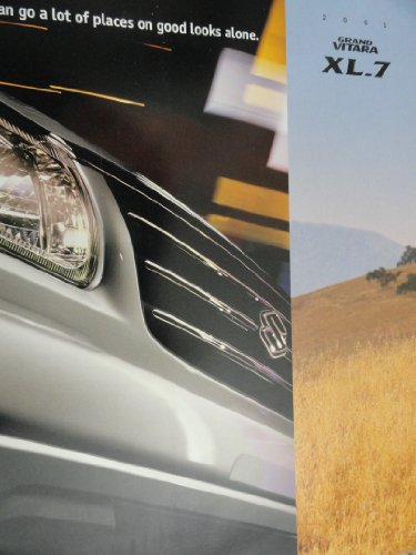 2001 Suzuki Grand Vitara XL-7 Sales Brochure (Suzuki Grand Vitara For Sale By Owner)