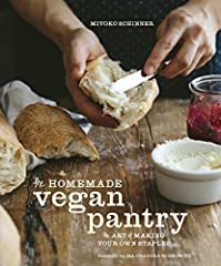 A guide to creating vegan versions of pantry staples--from dairy and meat substitutes such as vegan yogurt, mayo, bacon, and cheese, to dressings, sauces, cookies, and more. Kitchen crafters know the pleasure of making their own staples and s...