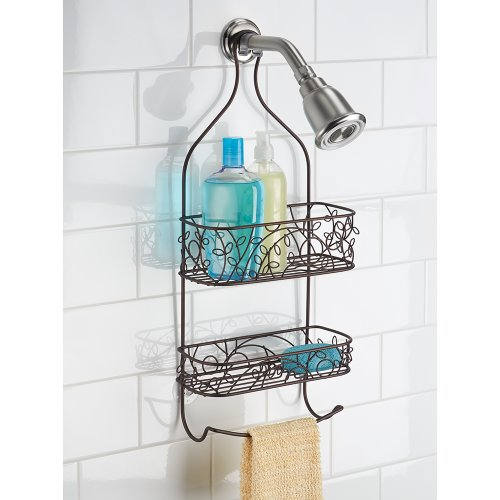 Interdesign Twigz Bath Shower Caddy Bronze Free Suction