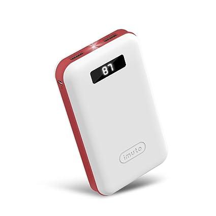 Amazon.com: Cargador portátil compacto de 20000 ...