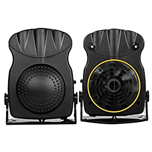 Car Heater: TevinExpress, Cooling, Heating, Fan, Portable, Defrosts, Defogger, Auto Ceramic Heater, 12V, 150W, 3-Outlet, Black   Plug Into Cigarette Lighter   Quickly Heats Fast, 30 Seconds