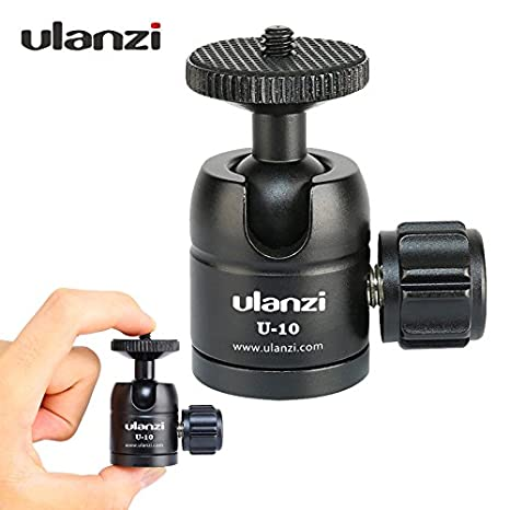 Buy LIBERTY Ulanzi U-10 Mini Ball Head, CNC Tripod Ball Head