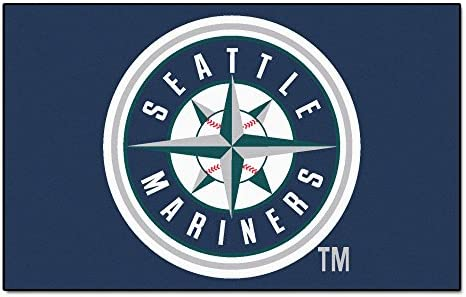 FANMATS MLB Seattle Mariners Nylon Face Ultimat Rug