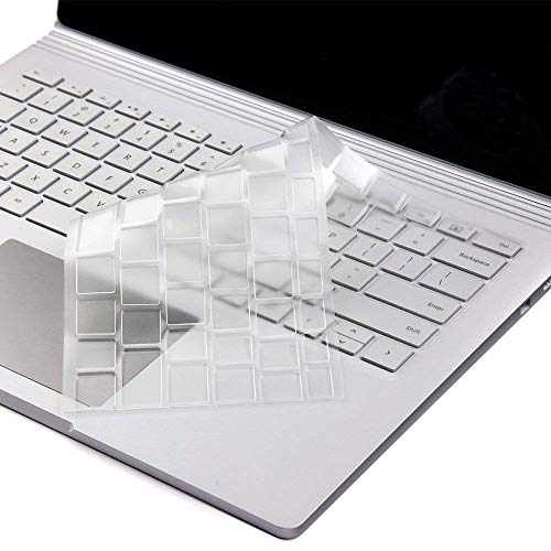 Saco Chiclet Keyboard Skin for Microsoft Surface Laptop 3 (13.5 inch, Model 1868) Laptop - Transparent