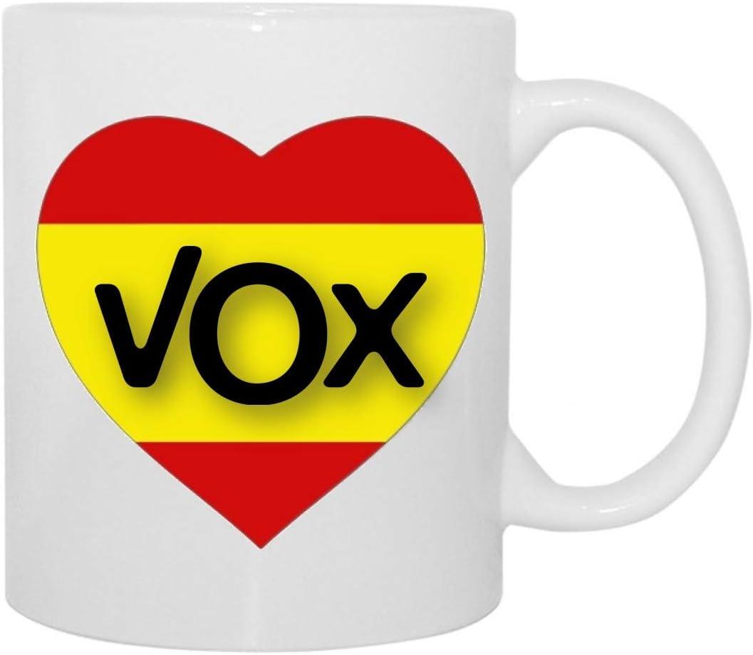 Taza VOX AMO A ESPAÑA: Amazon.es: Hogar
