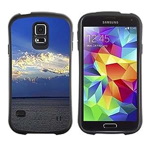 Paccase / Suave TPU GEL Caso Carcasa de Protección Funda para - Nature Cloud Sunshine - Samsung Galaxy S5 SM-G900