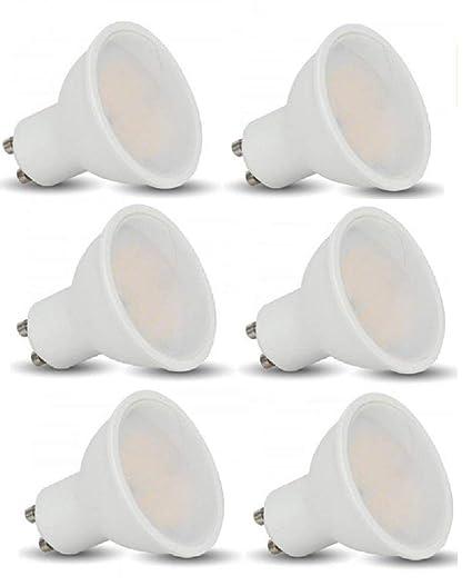 Pack de 10bombillas LED SMD de 3W (GU10) de V