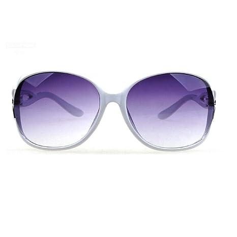Yangjing-hl Gafas de Sol de Gran tamaño para Mujer Gafas de ...