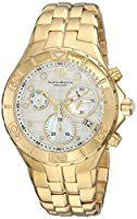 Technomarine Women's 'Sea' Quartz Stainless Steel Casual Watch, Color:Gold-Toned (Model: TM-715019)