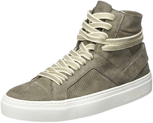 Liebeskind Berlin Lh173010 Suede, Sneaker a Collo Alto Donna Grigio (Street Grey 9602)