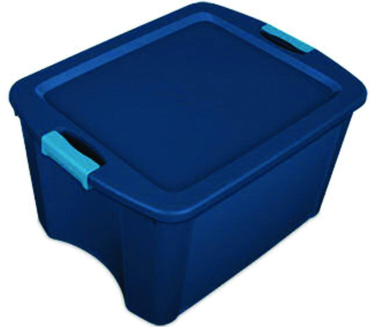 STERILITE Corp 14467406 Tote Latch/Carry True Blue, 18g