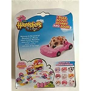 Zuru Hamsters in a house ~ Scurry Car ~ Peanut - 51D Y49kPkL - Zuru Hamsters in a house ~ Scurry Car ~ Peanut