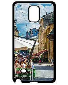 7738220ZE365111015NOTE4 Discount New Arrival Ukraine Lviv city Case Cover Samsung Galaxy Note 4 Case