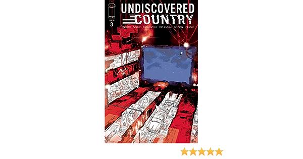 UNDISCOVERED COUNTRY #3 CVR A CAMUNCOLLI MR