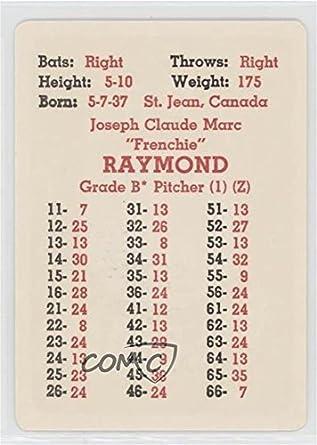 Amazoncom Claude Raymond Baseball Card 1968 Apba