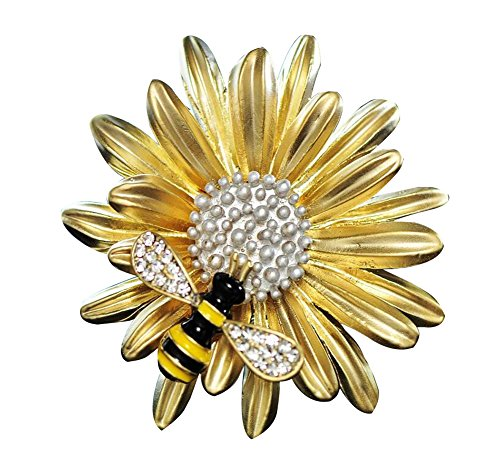 New Design Clothing Accessories Special Daisy Shape Women Brooch