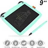 3D Hero LCD Writing Tablet for Kids 9 Inch Writing and Drawing E-Writing Tablet Board with 3 Stylus Great Gift for Kids (Green)