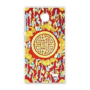 Creative Attractive Tutem Pattern Custom Protective Hard Phone Cae For Nokia Lumia X
