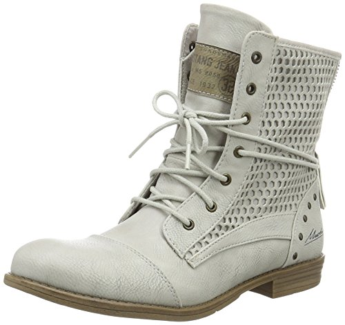 Mustang Women's 1157-542-203 Ankle Boots Off White (203 Ice) srD9O
