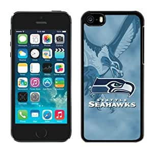 NFL Seattle Seahawks iphone 5C Casecell phone cases&Gift Holiday&Christmas Gifts NFIU8715978