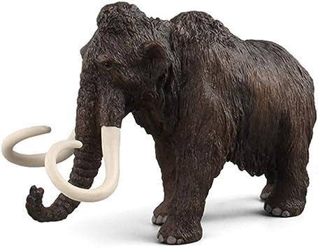 NUOVO Bullyland mammut lanoso plastica solida giocattolo Dinosauro Preistorico Animale