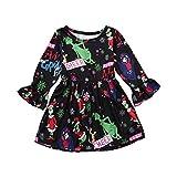 Toddler Girls Christmas Dress, Vinjeely Kids Baby Girl Snowflake Party Dress