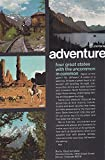 1969 Vintage Magazine Advertisement Rocky Mountain west, Adventure four great states with the uncommon in common.