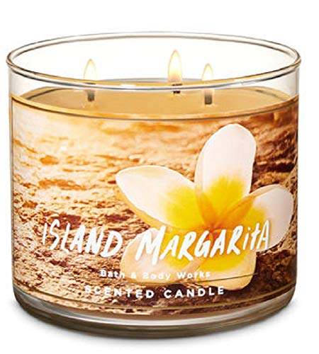 - Bath and Body Works Island Margarita 14.5 oz 3 Wick Candle New for Spring 2019 (mandarin, mango, sea salt)