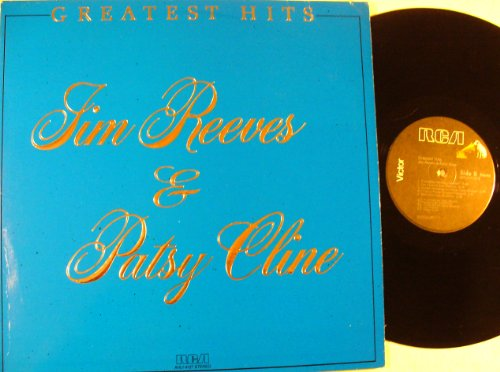 Jim Reeves & Patsy Cline Greatest Hits (The Best Of Jim Reeves Vinyl)