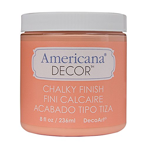 (DecoArt ADC-08 Americana Chalky Finish Paint, 8-Ounce, Smitten)