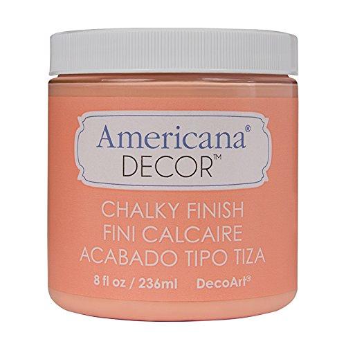 DecoArt ADC-08 Americana Chalky Finish Paint, 8-Ounce, Smitten