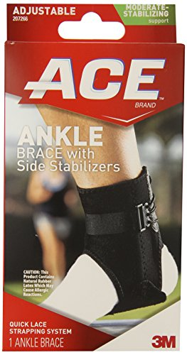 ACE Ankle Brace with Side Stabilizers (Ace Ankle Support)