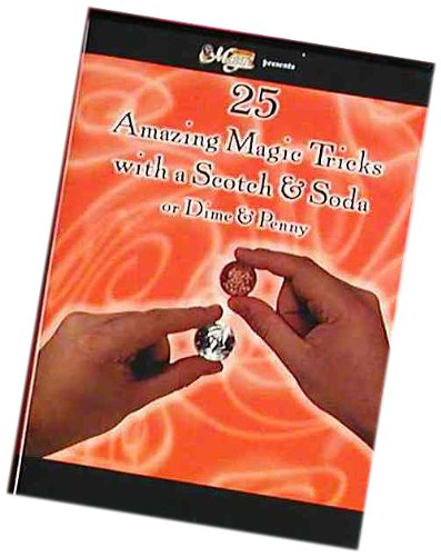 Forum Novelties Magic DVD 25 Scotch and Soda or Dime and Penny Magic Tricks -