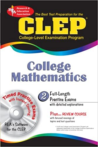 CLEP College Mathematics W CD ROM Test Preparation Pap Cdr Edition
