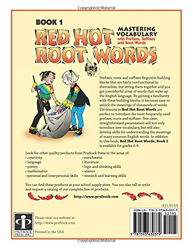Amazon.com: Red Hot Root Words Book 1: Mastering Vocabulary with ...