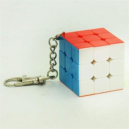 Best Ning Cubo de la Velocidad del Color sólido Llavero ...
