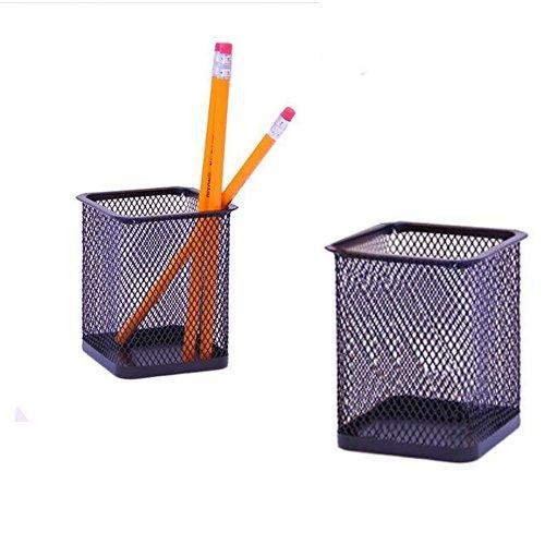 Black Square Pencil Holder Organizer product image