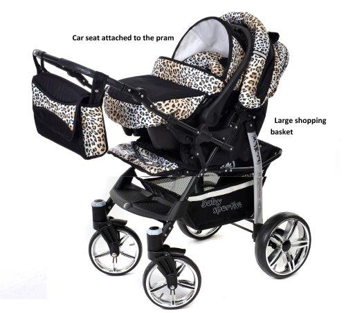 Baby sportive   sistema da viaggio 3 in 1 (carrozzina con ruote ...