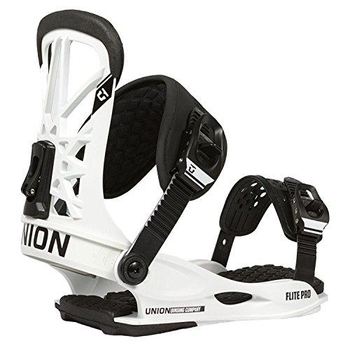 Union Flite Pro Snowboard Bindings 2018 - Large-White/Black