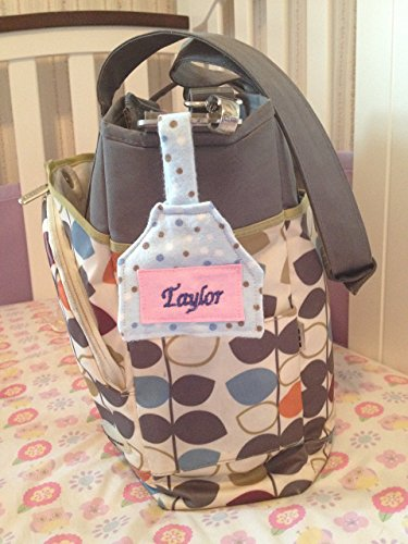 Personalized Diaper Bag Name Tag Great Baby Shower (Diaper Bag Tag)